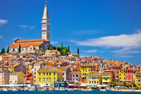 Ville de Rovinj , Istrie, Croatie