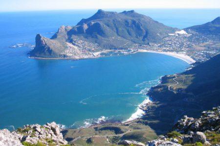 Péninsule du cap en Afrique du sud