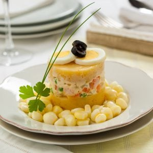 Causa rellena - plat typique péruvien