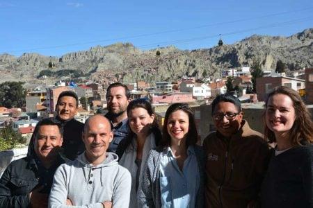 Notre équipe Vino Mundo Bolivia