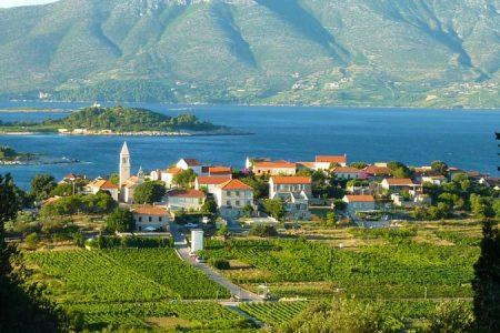 Lumbarda en Croatie