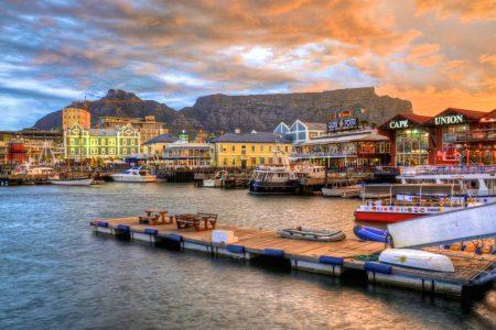 Port du Cap en Afrique du Sud
