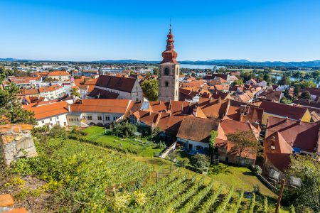 Slovénie, Village de Ptuj