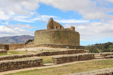 Equateur-site archaelogique ingapirca