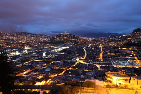QUITO - by night-Equateur