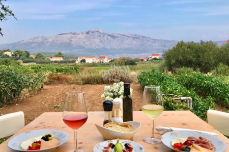 Slovénie Dégustation de vin à grk
