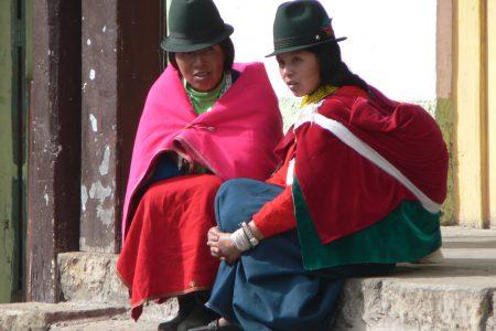 Equateur - Femmes de la région du Chimborazo