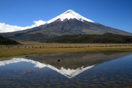 Equateur-Le volcan Cotopaxi dans toute sa splendeur
