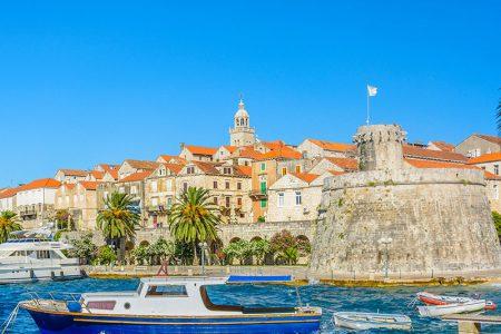 Croatie, île de Korcula