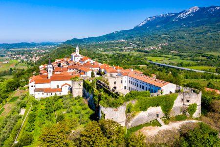Vipavski Kriz town in Slovenia