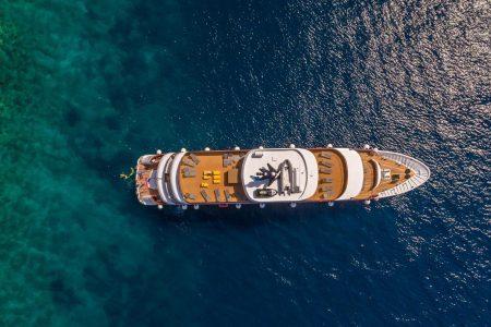 Croatie croisière sur le bateau Black Swan