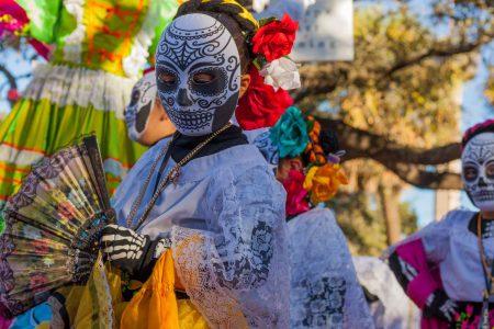 Fête du jour des morts au Mexique