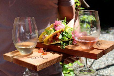 Tacos et vin au Mexique